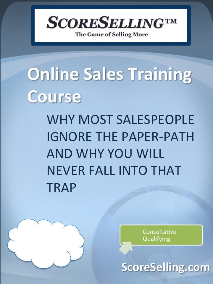 Why Most Salespeople Ignore the Paper-Path and Why You Will Never Fall into that Trap