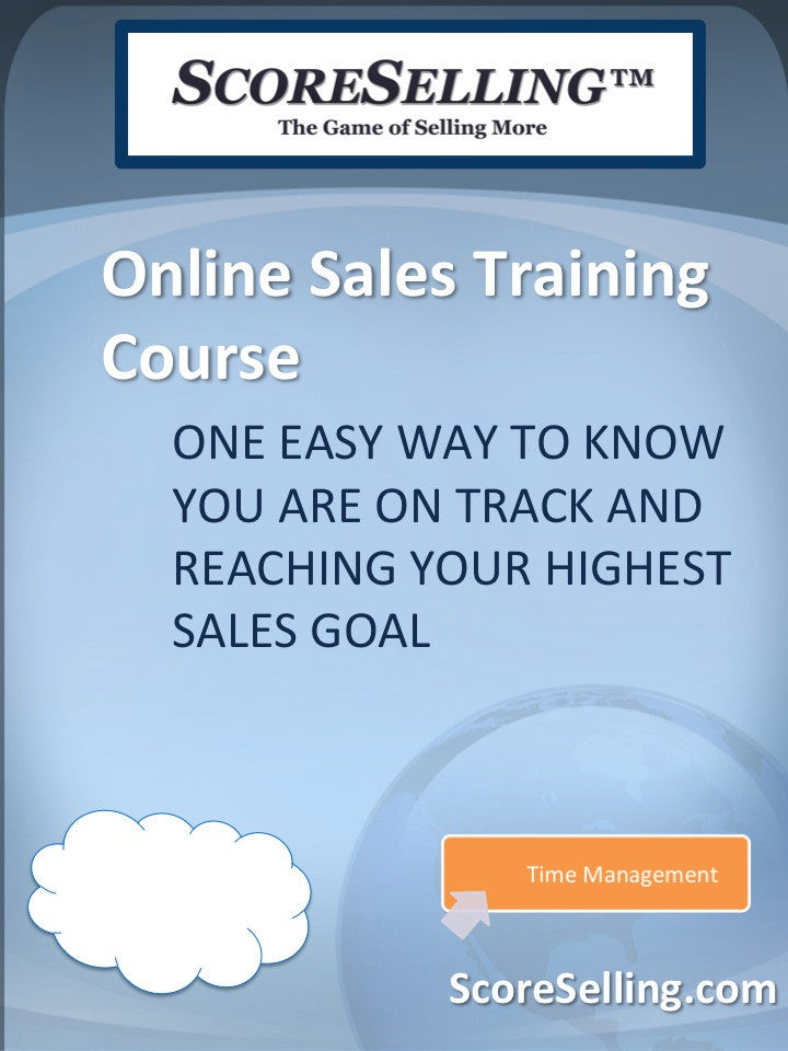 One Easy Way to Know You Are on Track and Reaching Your Highest Sales Goal