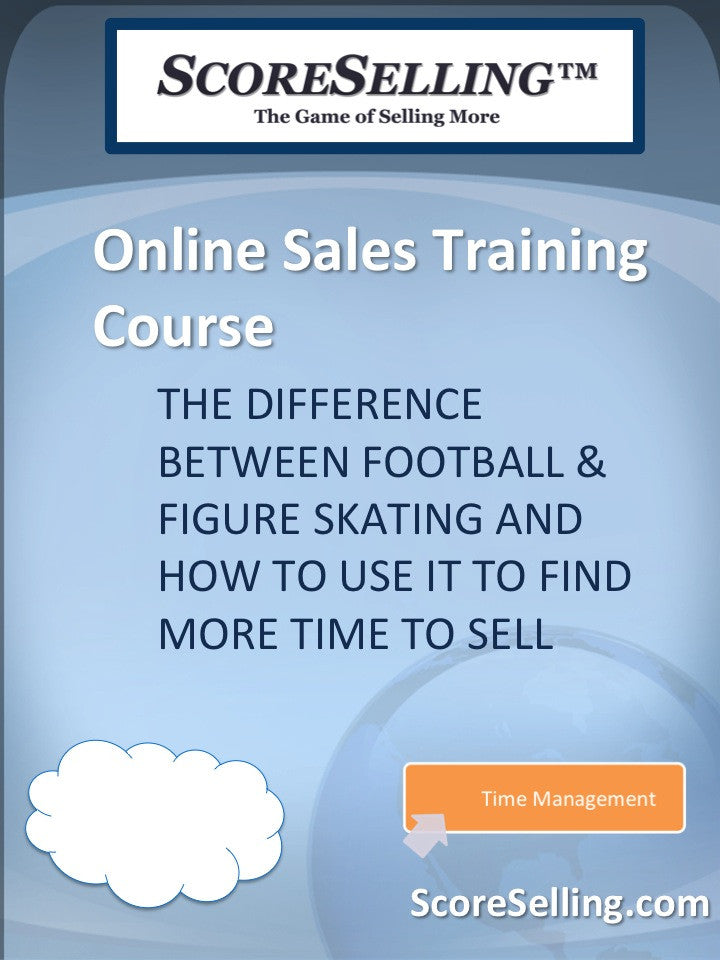 The Difference Between Football & Figure Skating and How to Use It to Find More Time to Sell