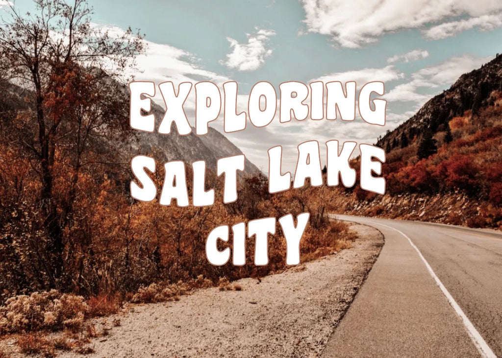 exploring salt lake city
