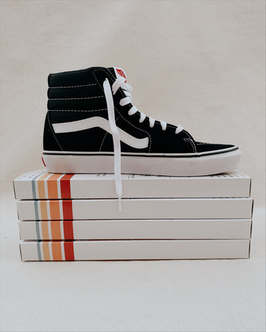 Old Skool & Sk8-Hi Vans Footsouls, Crewneck, Stickers Bundle