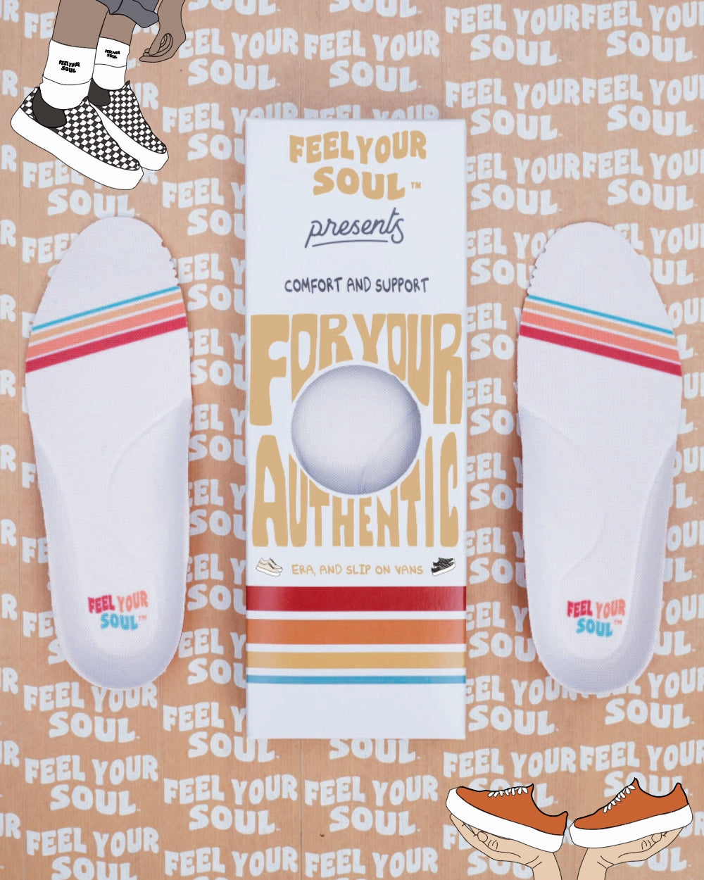 Footsouls For Slip on Vans