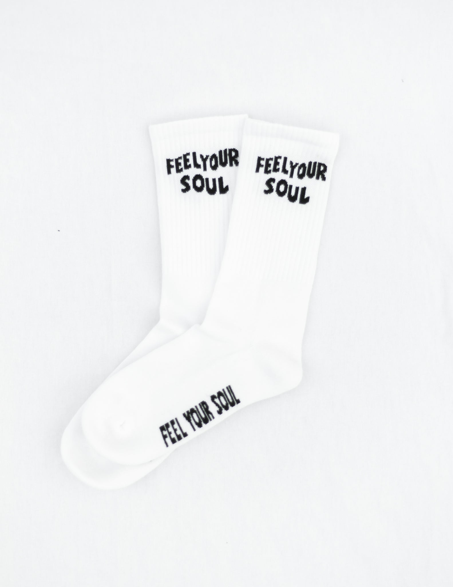 Retro Feel Your Soul crew sock