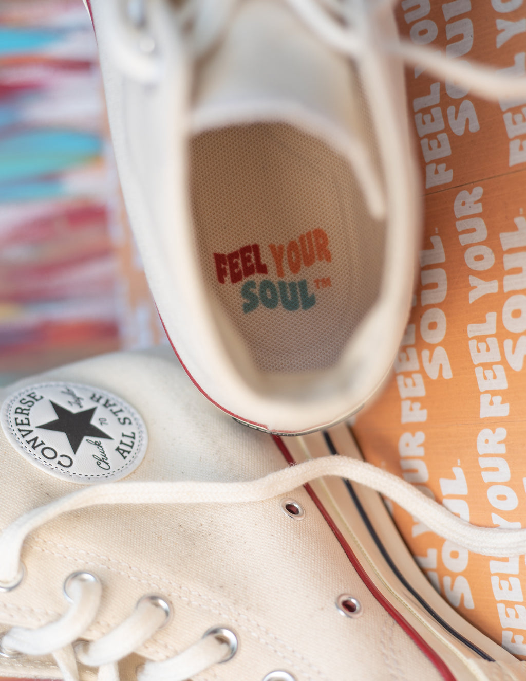 FOOTSOULS for Converse - FEEL YOUR SOUL