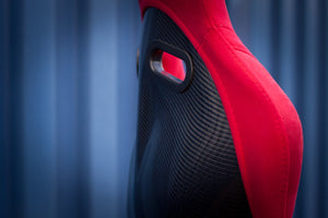 Bucket Seat Red // Carbon Fibre Hardback - Zillalife - 3