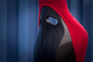 Bucket Seat Red // Carbon Fibre Hardback - Zillalife - 6
