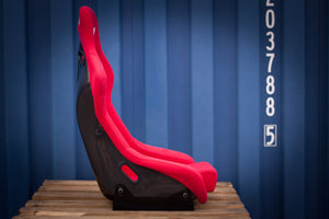 Bucket Seat Red // Carbon Fibre Hardback - Zillalife - 5
