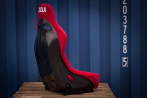 Bucket Seat Red // Carbon Fibre Hardback - Zillalife - 2