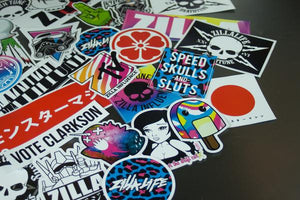 STICKER BOMB PACK - 50 Stickers [Premiums Included]