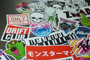 STICKER BOMB PACK - 40 Stickers
