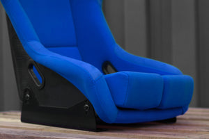 Bucket Seat Blue // Carbon Fibre