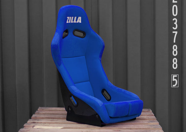 Bucket Seat Blue // Carbon Fibre [UNIQUES] [SOLD]
