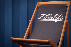 Trackside Deckchair [BLACK] - Zillalife - 1