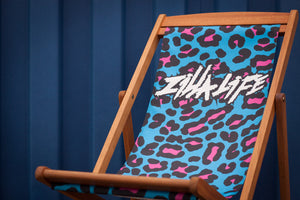 Trackside Deckchair [LEOPARD] - Zillalife - 1