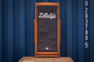 Trackside Deckchair [BLACK] - Zillalife - 2