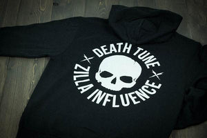 DEATHTUNE ZIP HOODY [RE-STOCK]