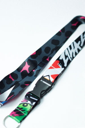 Stickerbomb  - Lanyard