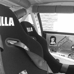 ZILLA Bucket Seat // BLACK Glitter Back [SOLD OUT] - Zillalife - 7