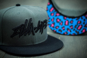 Hard Leopard Snapback - SOLD OUT - Zillalife