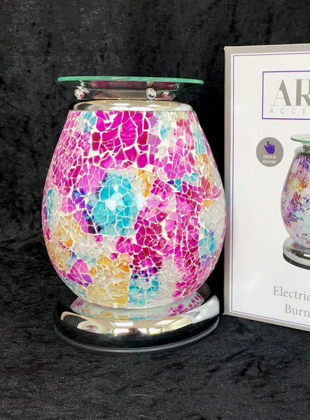 Apollo Mosaic electric touch activated wax melt burner