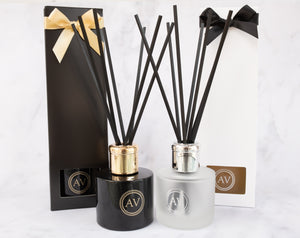 Black Fig & Vetiver Luxury Reed Diffuser.