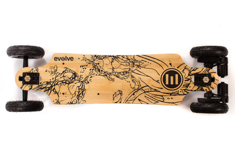 Evolve Skateboards France GT Bambou Tous Chemins