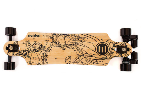 Evolve Skateboards France GT Bambou Street