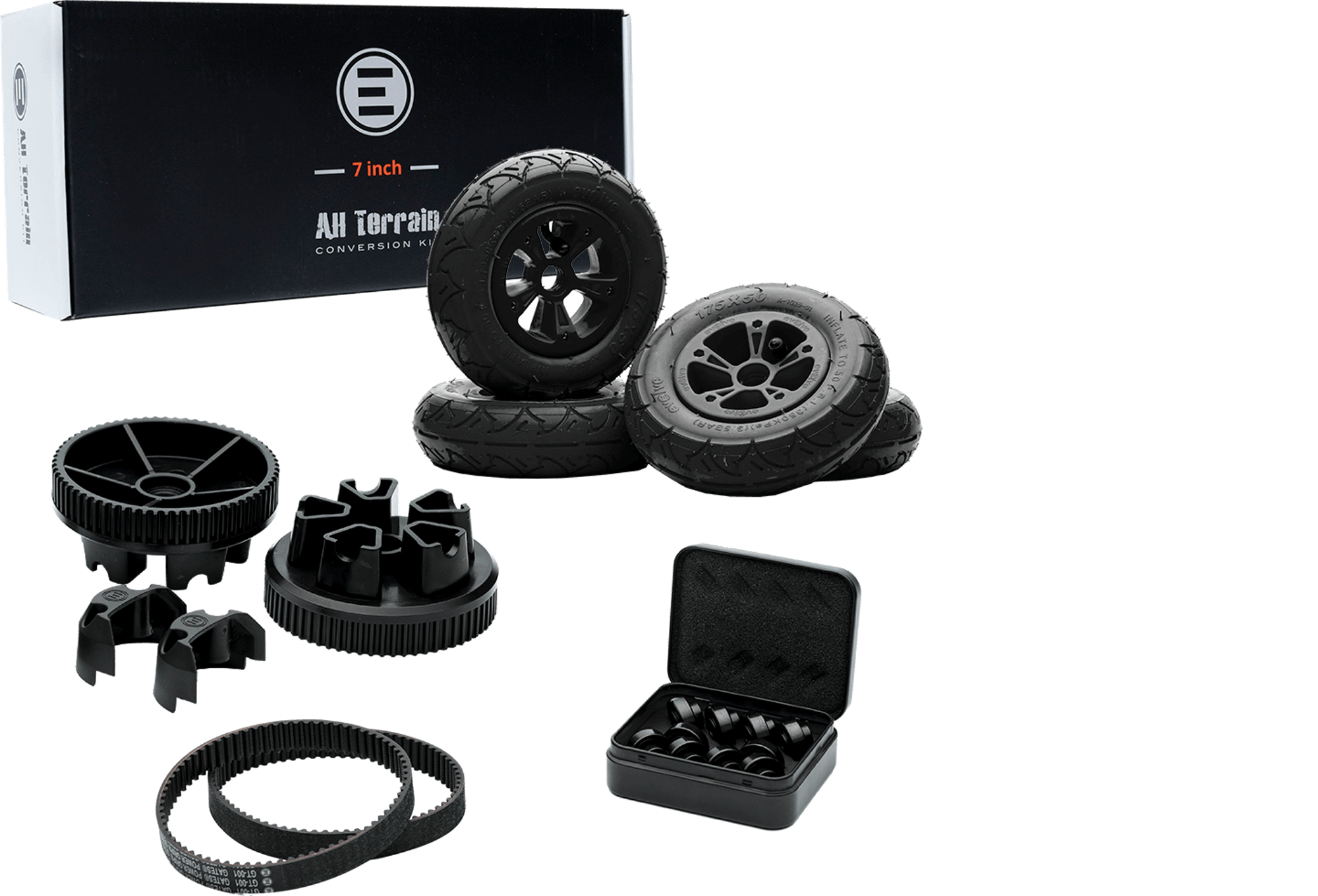 "Kit de conversion GTR ""Tous Chemins"" 175mm (compatible GT/GTX)"