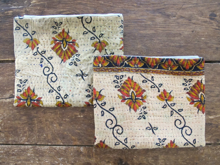 Kantha Shams (King) | Wheat Floral