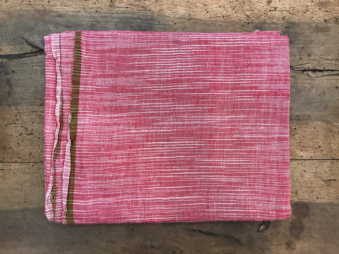 Cotton Lungi Shawl | Red