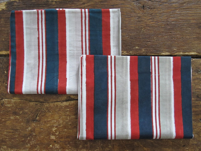 Kerry Cassill Pillowcase (Pair) | Cabana Stripe