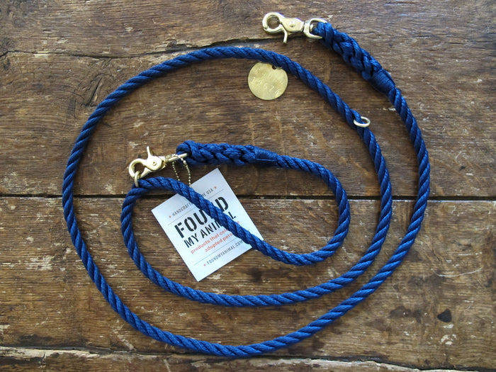 Adjustable Leash | Navy