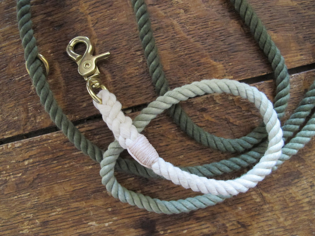 Found My Animal Adjustable Leash | Olive Ombré