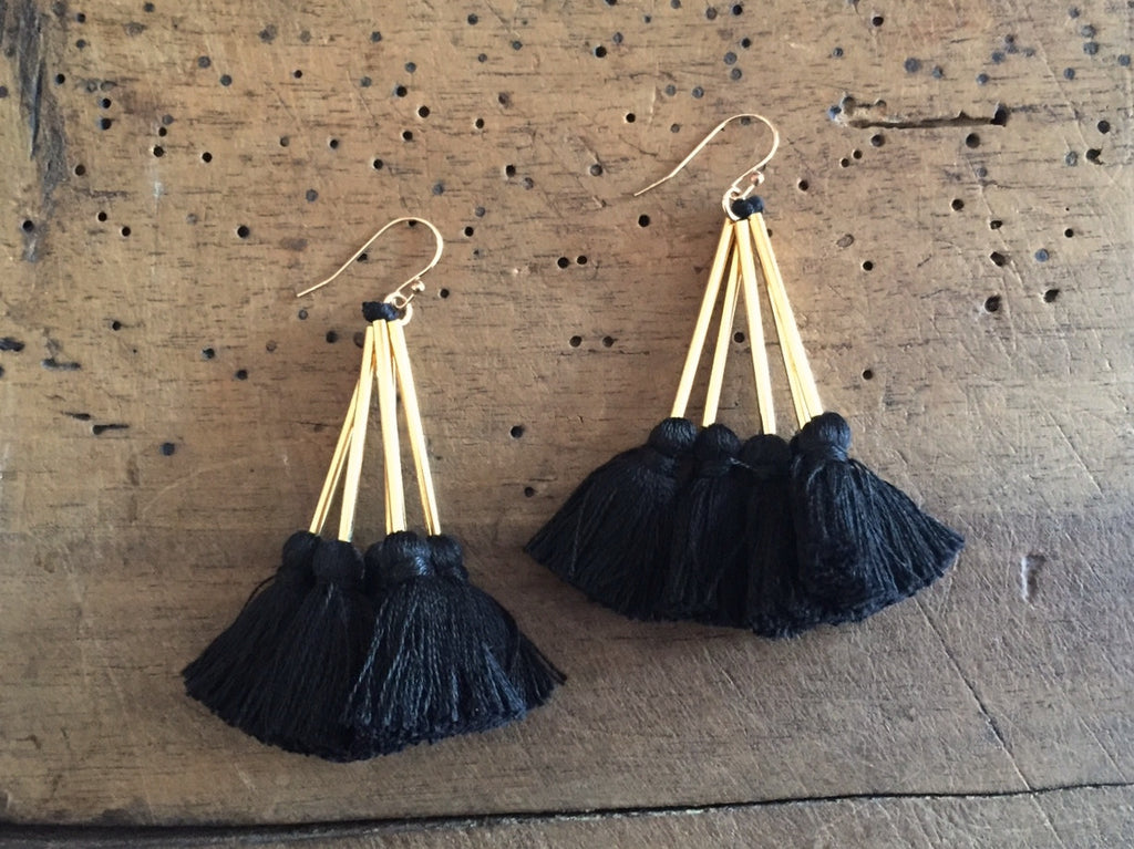 Tassel Earrings | Nima
