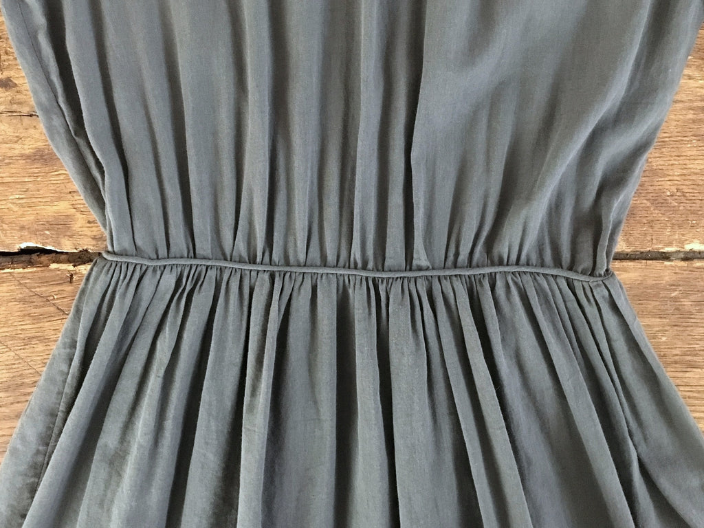 Loup Charmant Cook Island Dress | Gunmetal