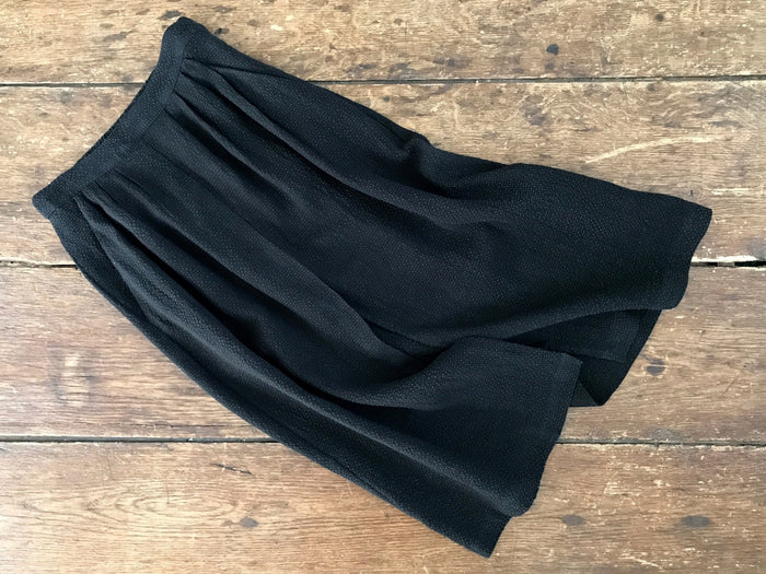 Pleated Skirt | Black