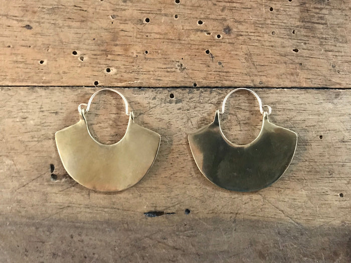 Brass Earrings | Ama