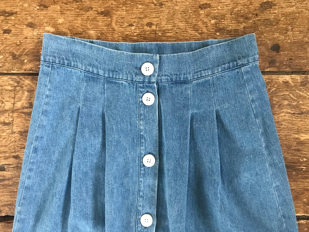 Cielo Skirt | Denim