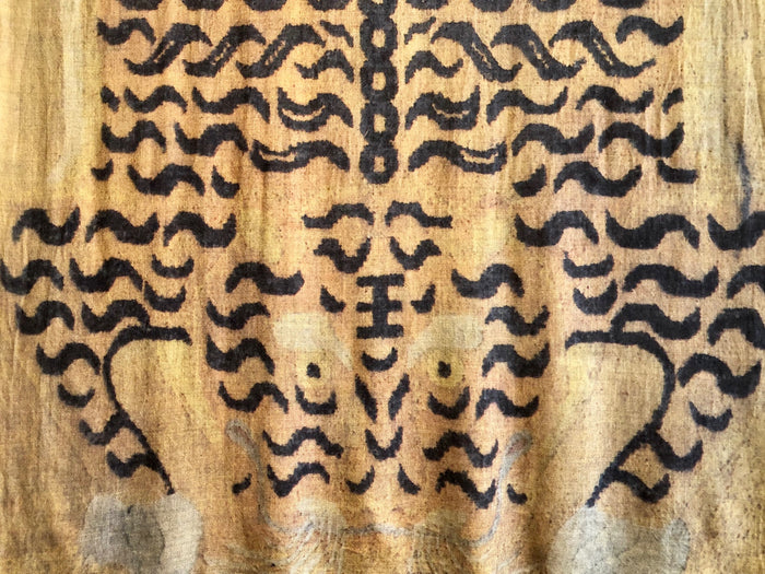 Sher Shawl | Tibetan Gold Tiger