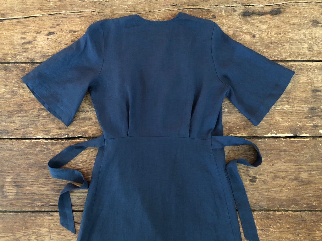 Emma Dress | Navy