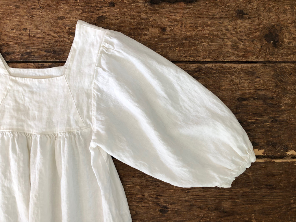 Big Sur Dress | Ivory