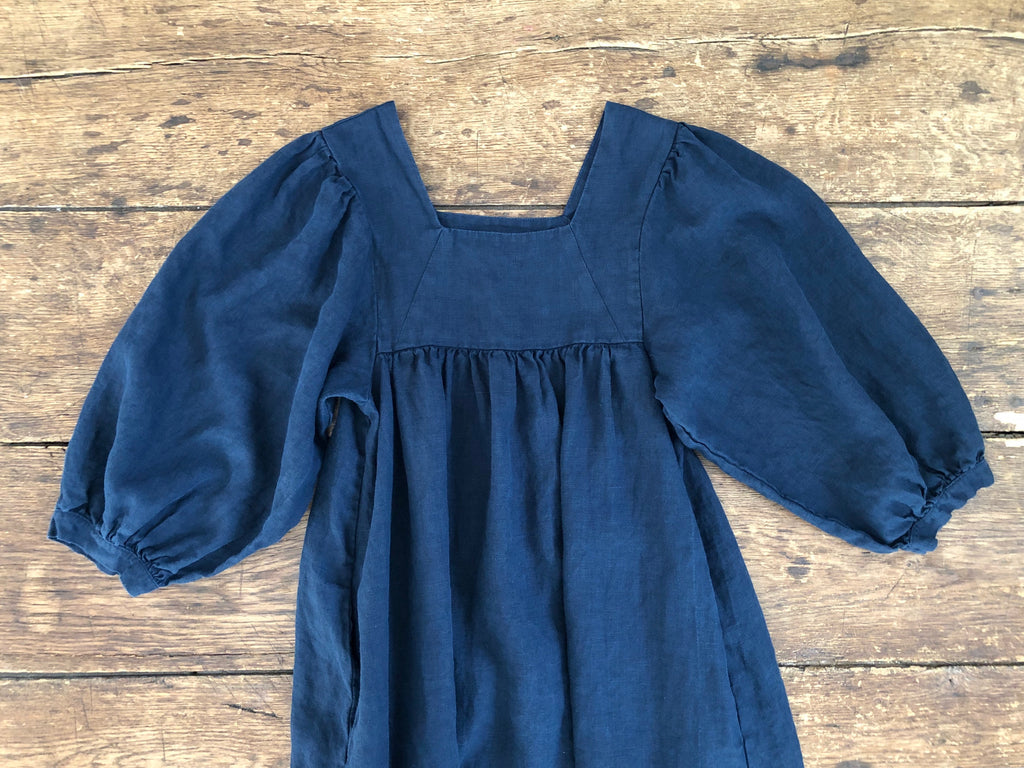 Big Sur Dress | Navy