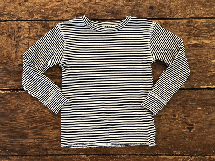 Rib Thermal | Navy Stripe