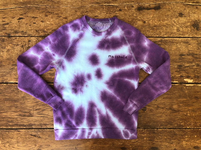 Masshole | Purple Tie-Dye M