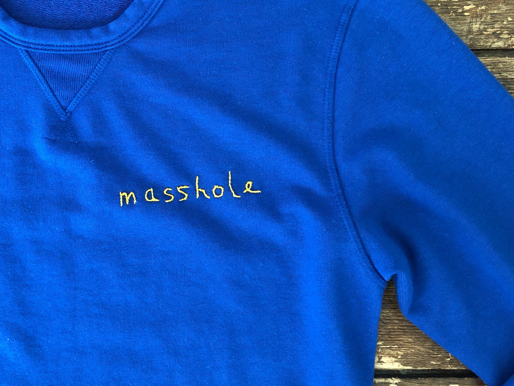 Masshole | Royal Sweatshirt M