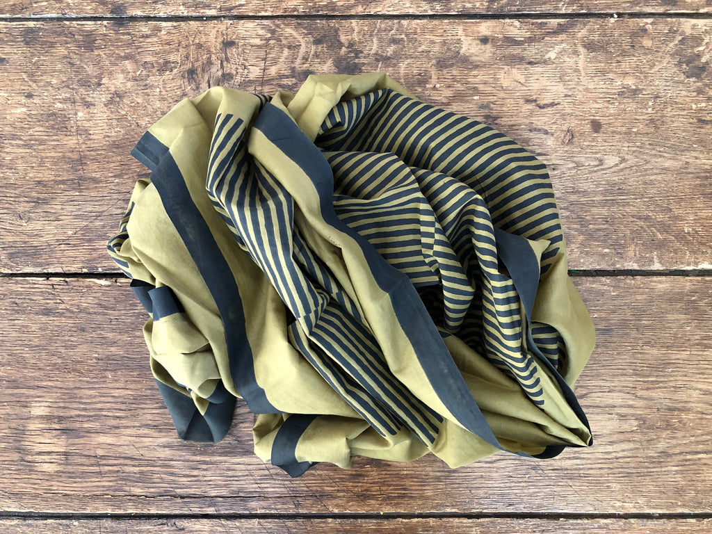 Temple Scarf | Coffee