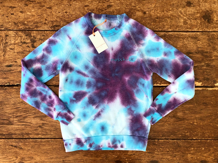 Masshole | Purple Tie-Dye XS