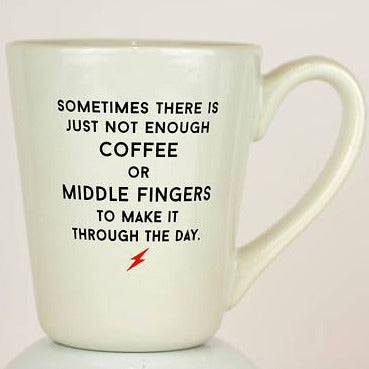 Coffee and Middle Fingers Mug