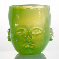 Baby Head Glass Cup