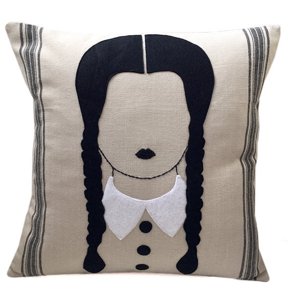 Wednesday Addams Cushion